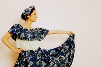 robe traditionnelle afro-équatorienne